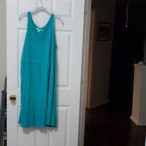 Old Navy 3X Turquoise Dress
